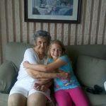 Grandma & Melissa - Trenton - July 2012