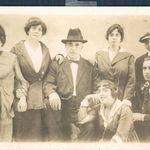 Coney Island 1912--Family of Rose's mother Josephine Licari including from left--sister Louise [Aunt Louise, parents Great Grandma & Grandpa Licari, sister Leonita [Aunt Nita], Grandma Jo, brother William [Uncle Bill]--and Frank Rumore