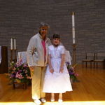 Hailey's First Communion - 2008