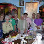 75th Birthday Party with friends from Florida - 2005