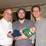 Jeff, Brian, Andrew, and Van . Christmas 2010