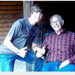 Taylor loved him so much and pawpaw loved him back even more!