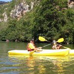 Steve and Kendall - Tarn River, France, July 2012
