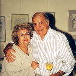 In 2000 at Westfield Court penthouse dinner party hosted by Rose--Rose with brother Roy