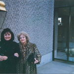 Rose and daughter Laurie at Westfield Court 2001