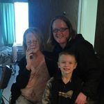 Takin Nov.17 2012 Grandma Wanda,Christi Young(Grand Daughter) Kevin Young Jr.(Great Grandson)