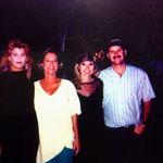 Jim and his 3 wives...Karen Linda, Gail