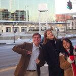 Jen, Jonathan and Christofel in Louisville
