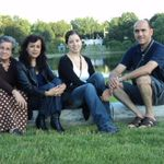 Hector with Ruth, Heglael (niece) and Noemí (Ruth´s mom).