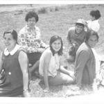 "Lalo plays with his elder brother, Gerardo"" in this picture taken in one family pic-nic. Around 1972"
