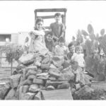 Lalo and some of his brothers and sisters in an old picture, in Ecatepec, Mexico, Hector's birthplace.