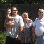 Hailey, Keith, Donna and Pop