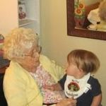 Nannie and her Great Great Grandson