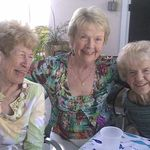 Nadine with sisters Jackie and Nanci