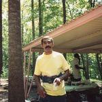 Mike at a picnic