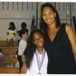 Aiyana (granddaughter) and Debra (daughter)