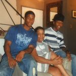 Crystal (stepdaughter) with sons Nathan and Kenny
