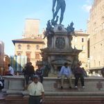 Statue of Nettuno, Bologna, Italy