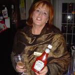The Olson Halloween Party as Teresa Kerry! Her humor shining through!