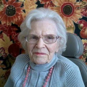 Hilda  Mae Baines Thompson Obituary Photo