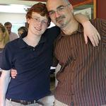 Matt and Tom at Matt's HS graduation.