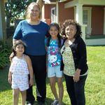 Mom, Norma & Grand kids