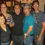 Barragan's Restaurant with Mom, Norma, Robert, Danny & Ray 2012
