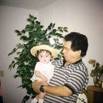 Abuelo with me