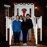 Christmas 1997, our 1st new house; 1 of 5