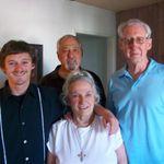 Tommy, Noni, Jim & Cousin Joe