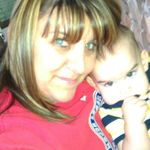Jennifer with her youngest grandson Rilyn