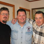 Kevin, Jimmy and Doug  (God help us when they all get together!)