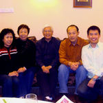 Christmas season 2007, 10 of 12: Beijing, with my Ph.D. advisor Dr. Wu and his wife