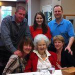 Family dinner, June 2012.