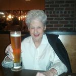Toasting her 90th Bday in Portland.
