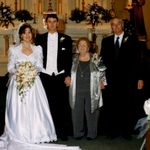 Mom and Dad at Harvey & Cindy's Wedding 2000