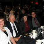 YMCA Dinner Nov 2011 Karen, Bob, Janie & Bob