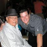Bob & grandson Jimmy III October 2011