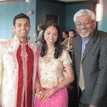 Priya and Jibu's engagement party 2010