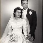 Carmella and Ed's Wedding Pictures from April 15th, 1950.