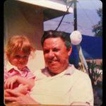 June 1985 Melissa & Grandpa