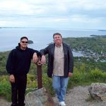 my dad and I in Maine