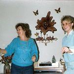 Lsa & Mom dancing