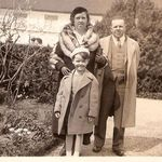 1934 - Dad with parents at George Washington's home in Mt. Vernon