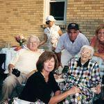 """Dad, Christine, """"Grandma Sipes"""", Jack, Debbie & Marsha"""