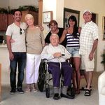 2012 - Dad, Christopher, Jean, Sonia, Stephanie & Chris - San Jacinto