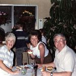 Jean, Patty & Dad - Paseo de Plata