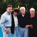 1995 - Phil, Pat, Dad & Jean - Palos Verdes