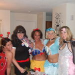 Halloween fun with Jodi in 2008....you'll always be remembered (Lady Outlaws for life)
