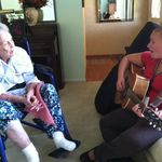 Hospice music therapy lifted my soul and was a true blessing.  